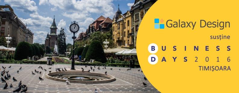 Galaxy Design - Business Days Timisoara